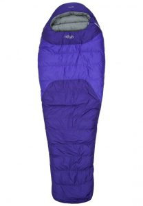 rab-summit-600-mummy-slaapzak-rits-links-violet