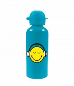 ZakDesigns-Smiley-2.0-Drinkbeker-Aluminium-600-ml-Headset-Aqua-Blauw