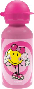 ZakDesigns-Smiley-2.0-Junior-Girl-Drinkbeker-Aluminium-400-ml-Roze