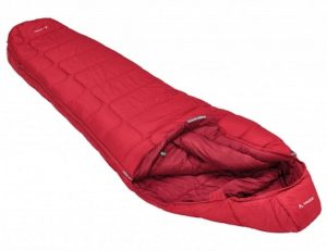 vaude-sioux-800-syn-mummy-slaapzak-rits-links-rood